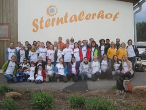 Soziales Engagement SPIDI Team am Sterntalerhof