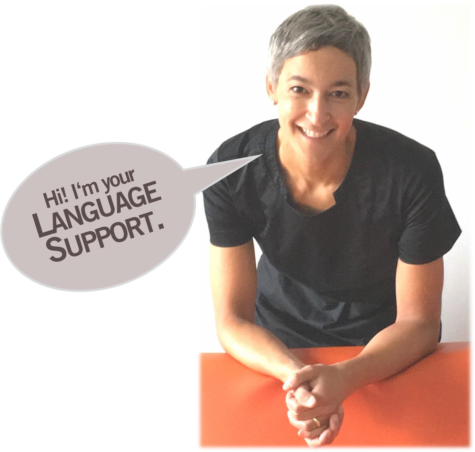 Hi! I'm your language support