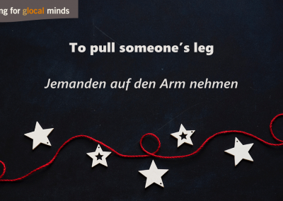 PIDI AdventkalenderTo pull someone's leg