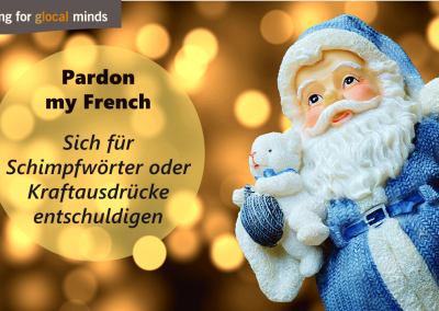SPIDI Adventkalender Pardon my French