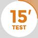 Button 15 Minuten Test