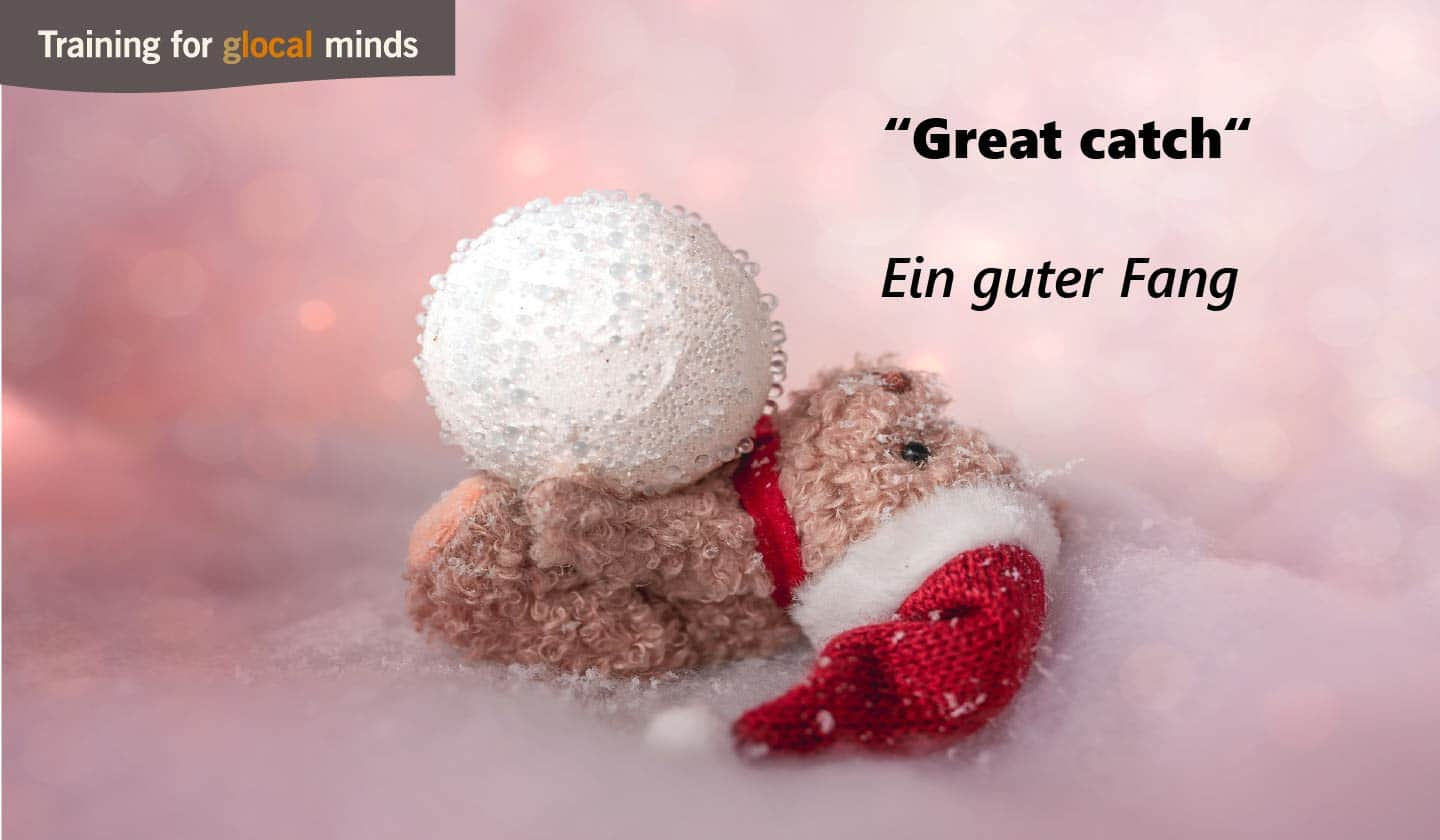 "SPIDI Adventkalender Tür 17: ""Great catch"" (ein guter Fang)"