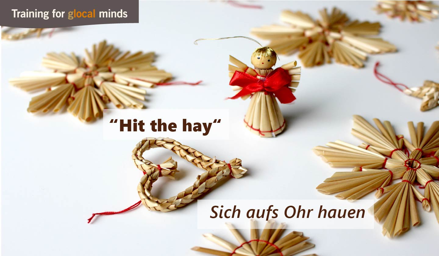 "SPIDI Adventkalender Tür 20: ""Hit the hay"" (sich aufs Ohr hauen)"