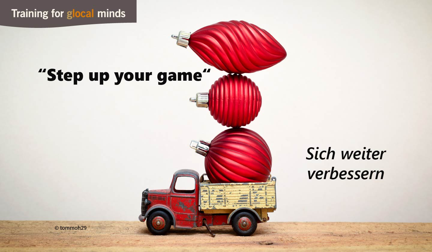 "SPIDI Adventkalender Tür 22: ""Step up your game"" (sich weiter verbessern)"