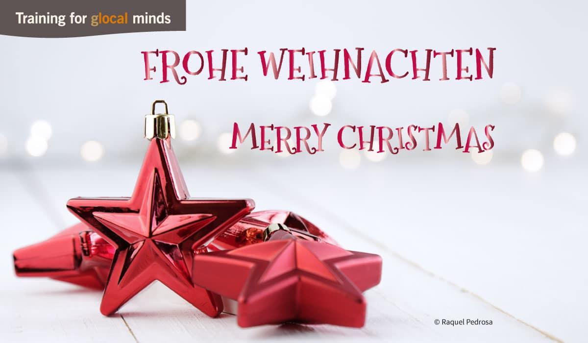 SPIDI Adventkalender Tür 24: Frohe Weihnachten - Merry Christmas