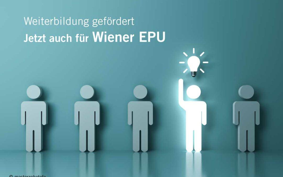 waff-Förderung für EPU-Weiterbildung